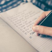 Save Time By Writing Lists